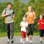 Родители, дети, физкультура